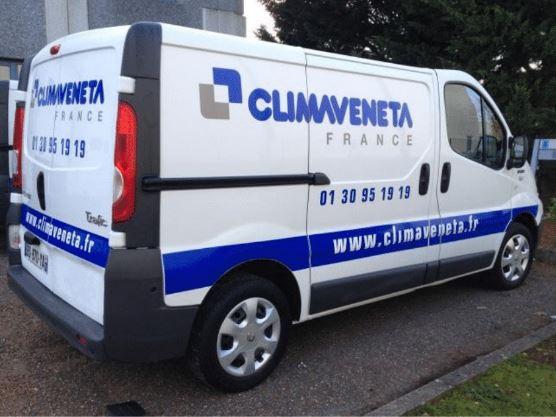 Signarama marquage vehicules professionnels camionnette