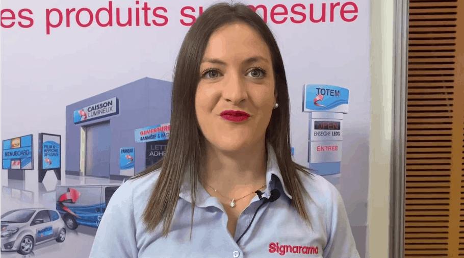 Avis _ devenir franchisé Signarama - Celine Vatan Signarama Lyon